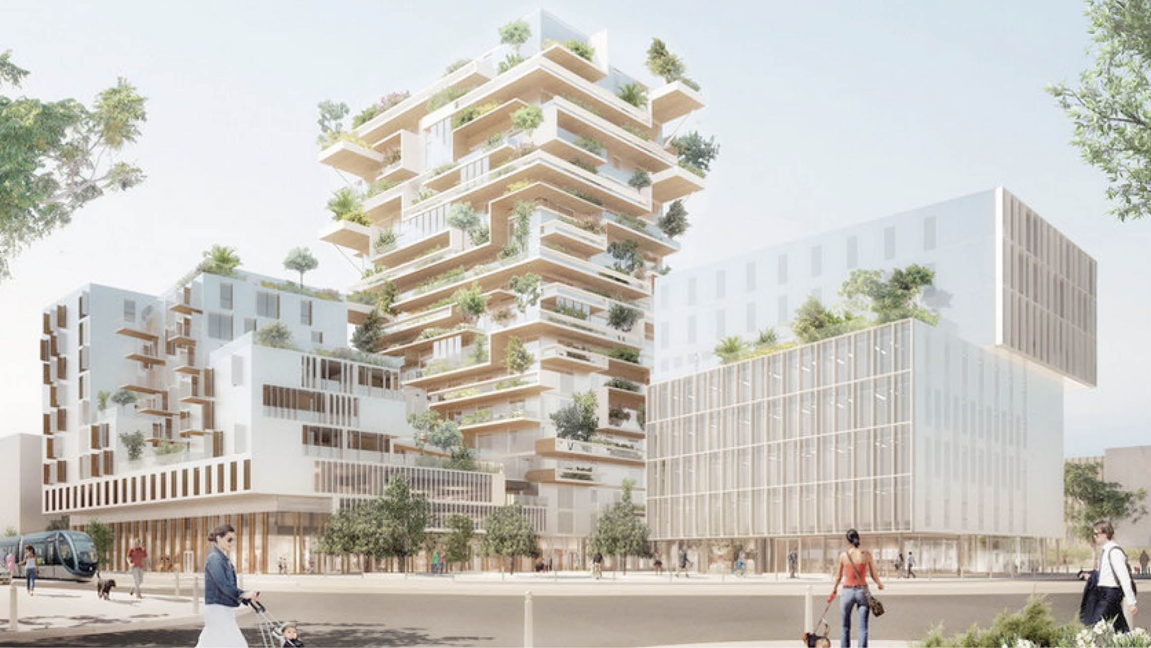 """Featured image for """"New French public buildings must be made 50% from wood"""""""