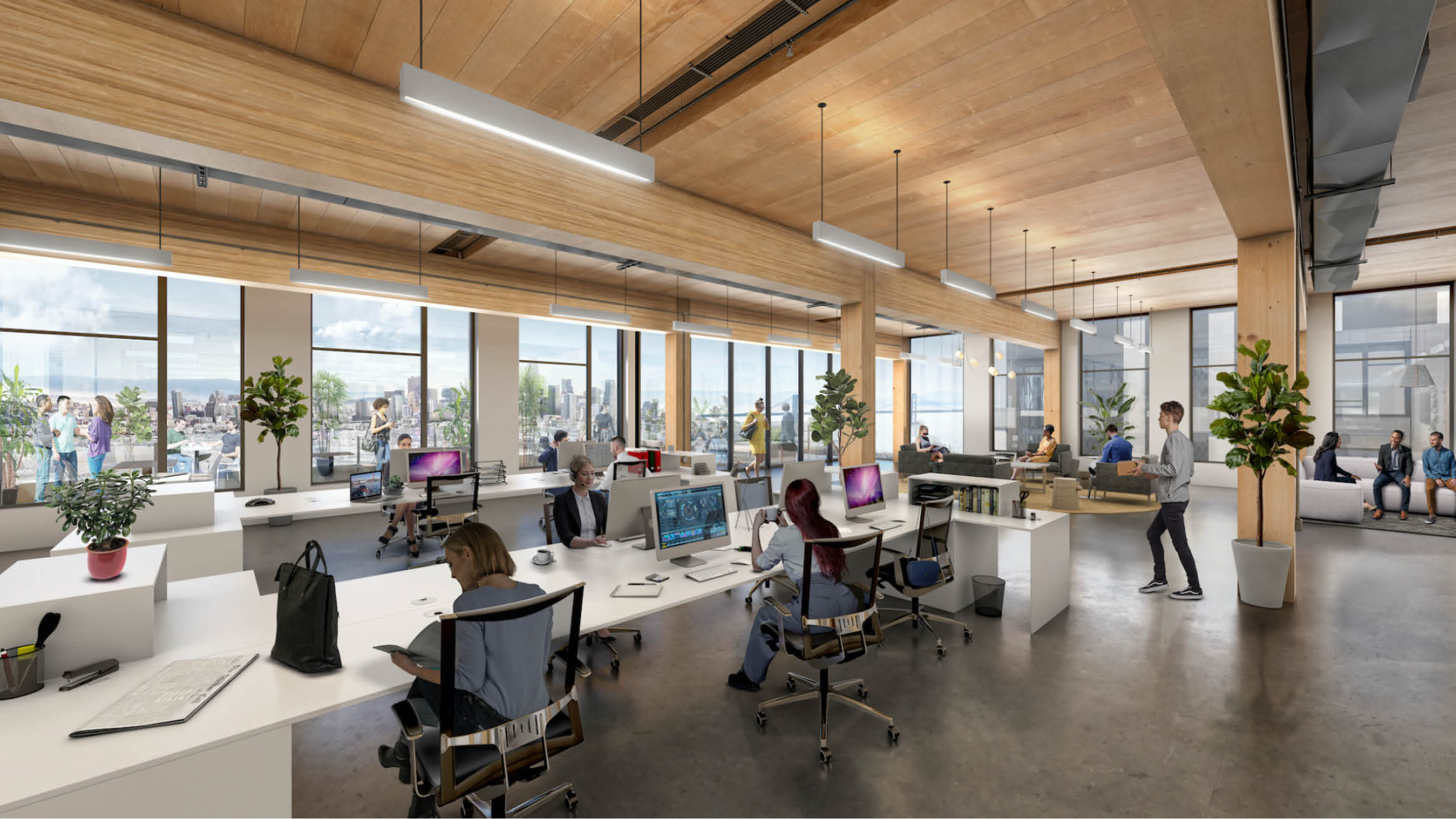 """Featured image for """"Brookfield Properties to Build the Largest Mass Timber Office Building in North America at Pier 70 in San Francisco"""""""