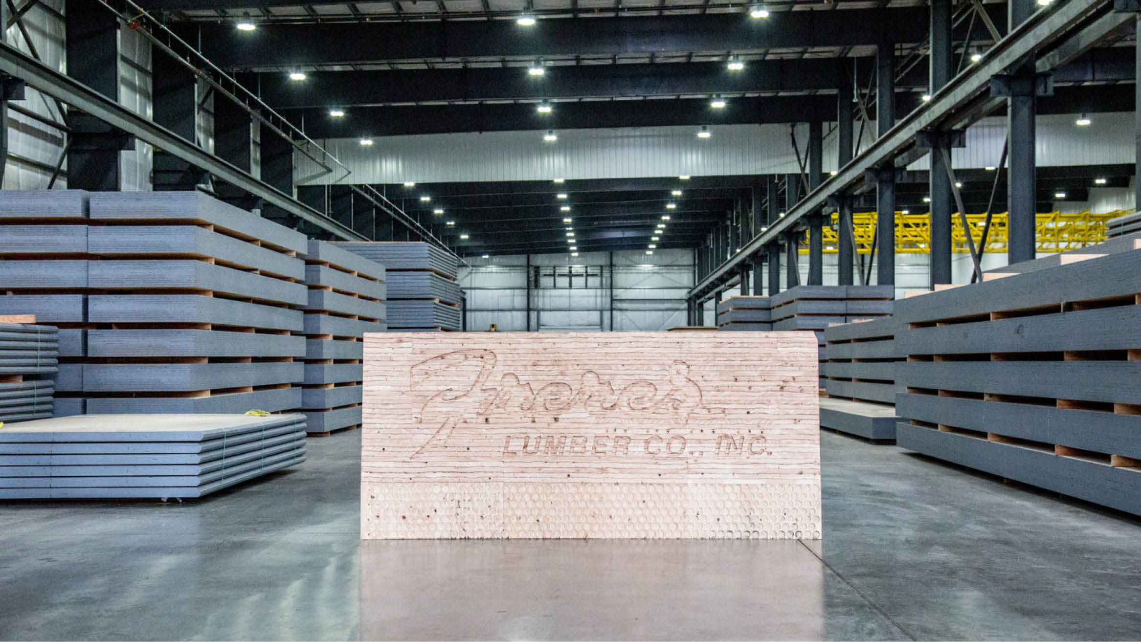"""Featured image for """"Freres Lumber launches new mass plywood panel beam and column line"""""""