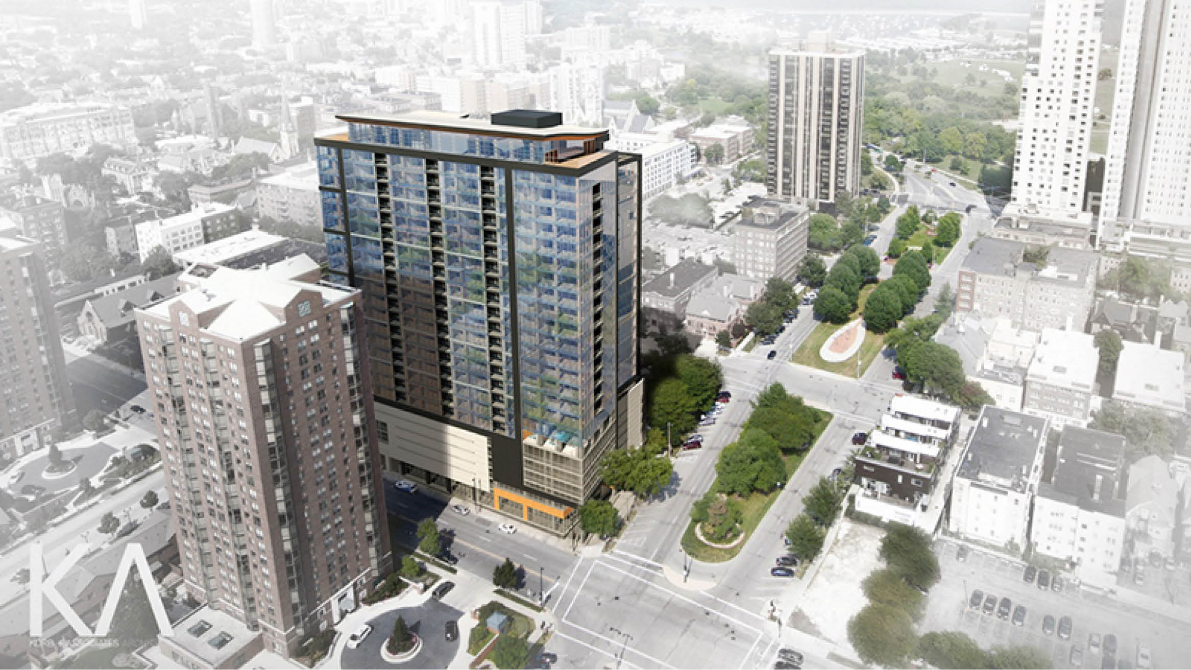 """Featured image for """"Timber Composite Tower in Milwaukee To Begin Pre-Leasing"""""""