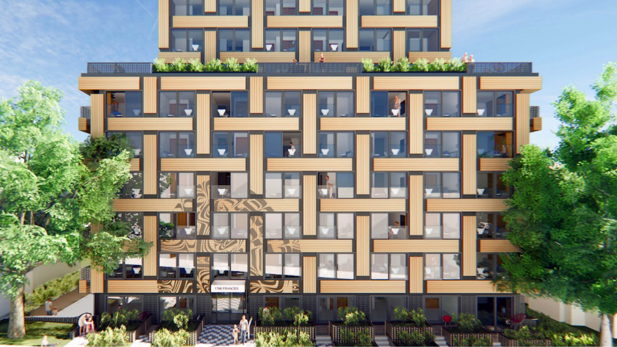 """Featured image for """"Social housing with a First Nations basket weave design proposed for Vancouver"""""""