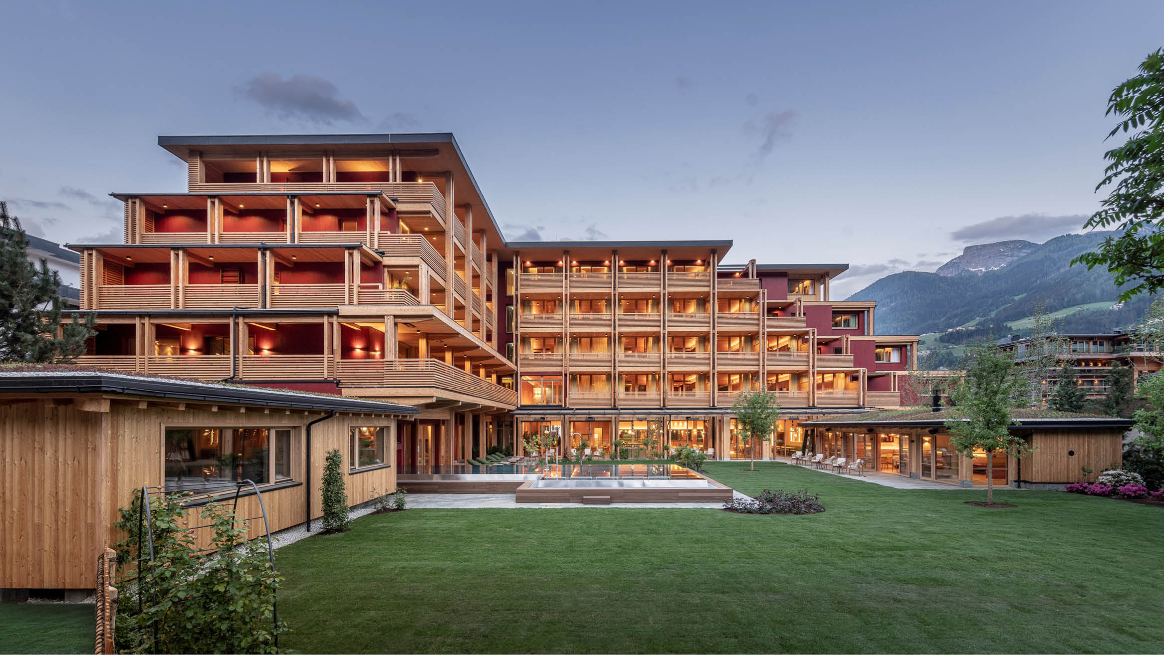 """Featured image for """"A world first: 5-storey hotel made of PEFC-certified timber opened in Austria"""""""