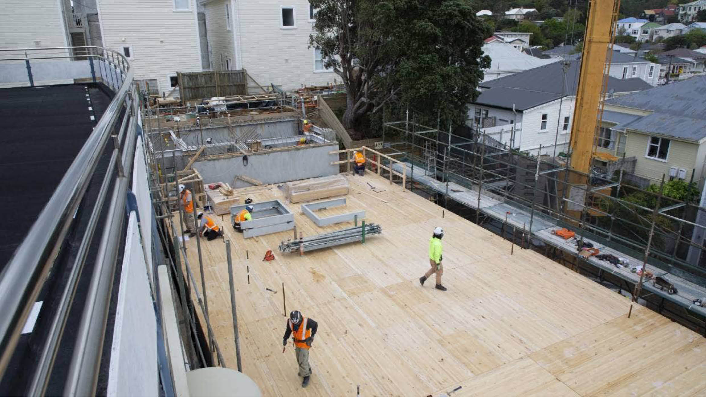 """Featured image for """"Prefabricated 41-unit apartment block in Wellington to be ready by mid-2021"""""""