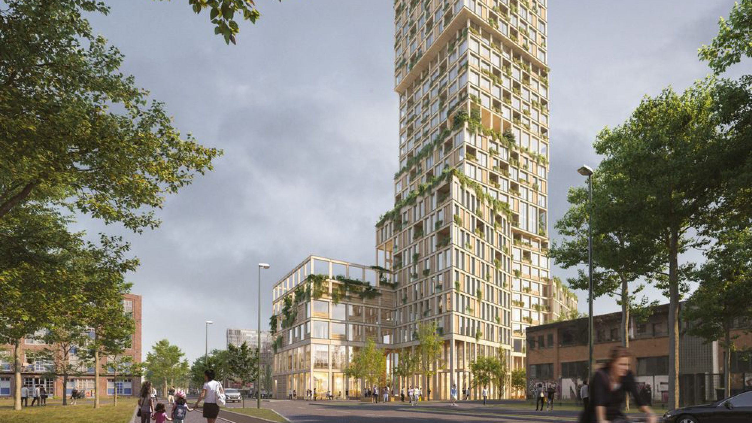 "Featured image for ""Berlin's New Timber Tower Comes With Lofty Ambitions"""