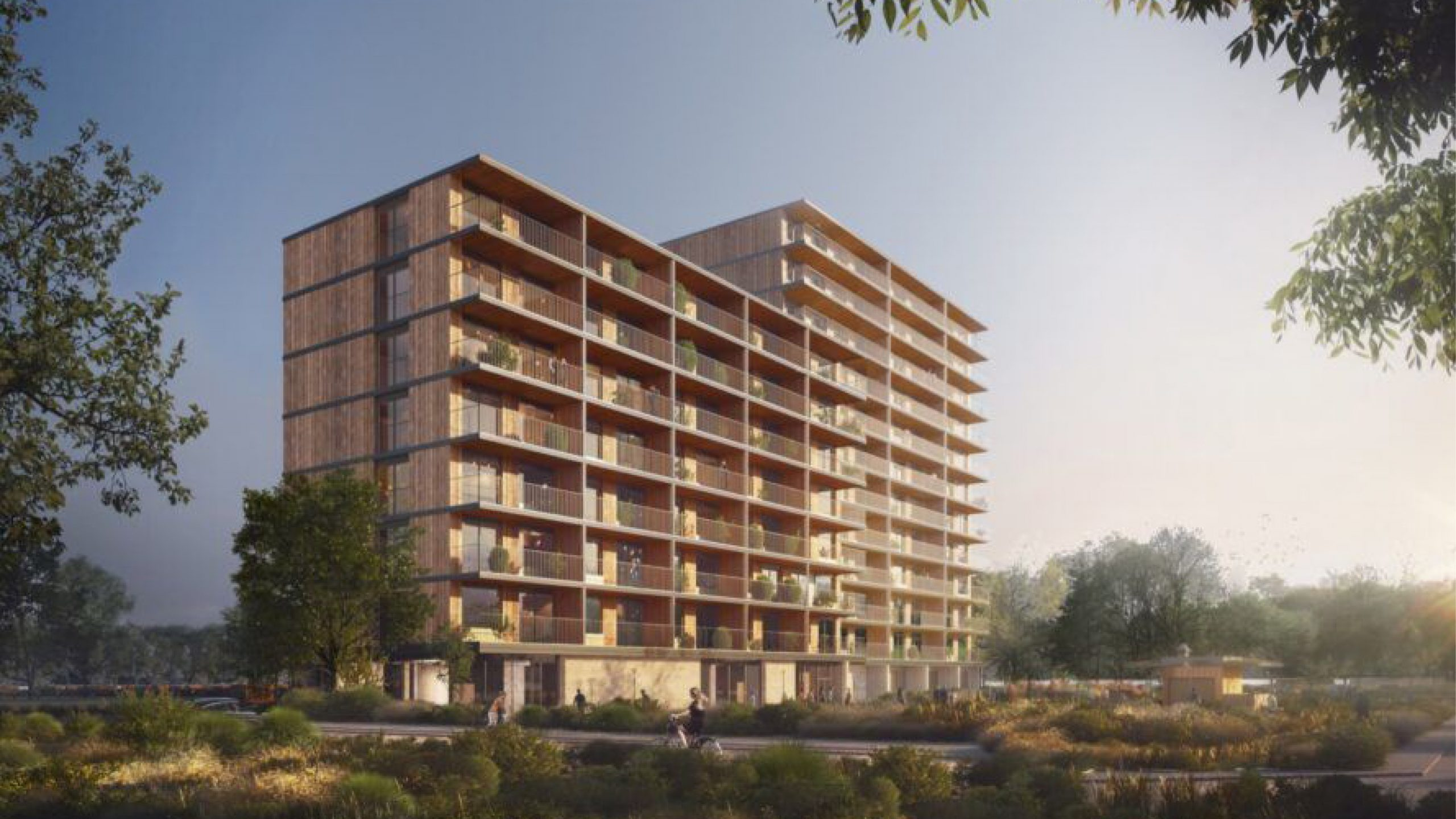 "Featured image for ""This will be the largest CLT affordable housing complex in the Netherlands"""