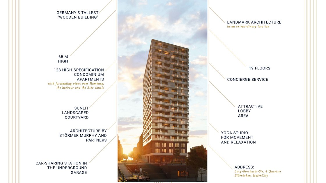 """Featured image for """"New leader for tallest timber building in Germany """"Roots"""""""""""